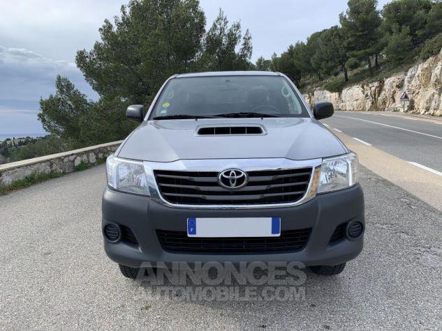 Toyota HILUX 144 D-4D X-TRA CABINE LE CAP 4WD GRIS ARGENT METAL Occasion - 7