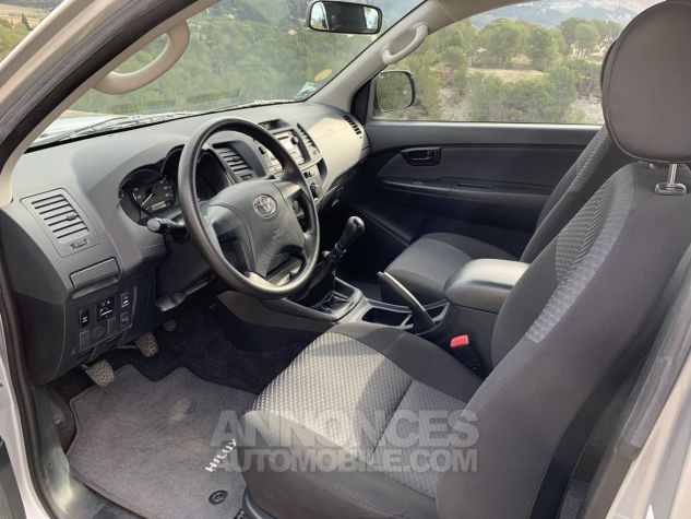Toyota HILUX 144 D-4D X-TRA CABINE LE CAP 4WD GRIS ARGENT METAL Occasion - 8