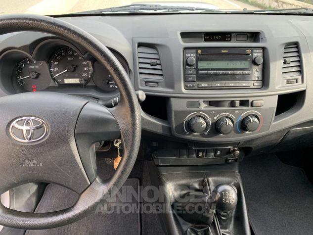 Toyota HILUX 144 D-4D X-TRA CABINE LE CAP 4WD GRIS ARGENT METAL Occasion - 9