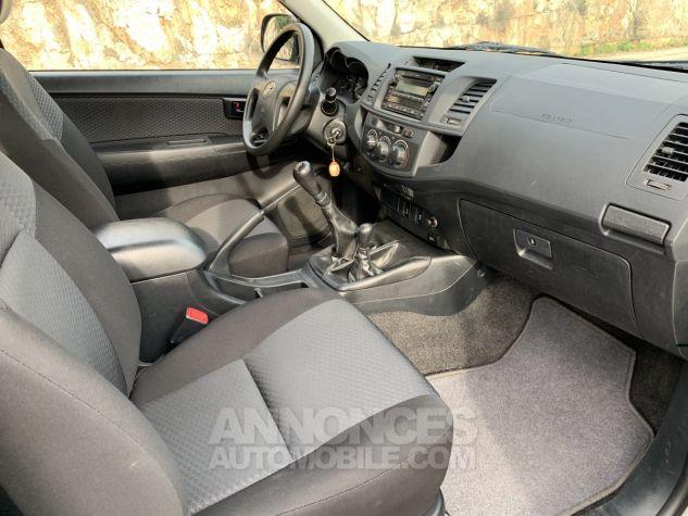 Toyota HILUX 144 D-4D X-TRA CABINE LE CAP 4WD GRIS ARGENT METAL Occasion - 10