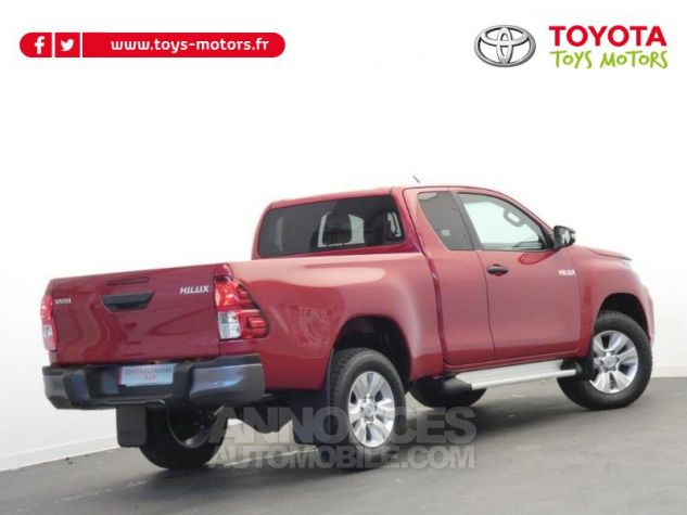 Toyota HILUX 2.4 D-4D 150ch X-Tra Cabine Légende 4WD RC19 Rouge Volcano Occasion - 1