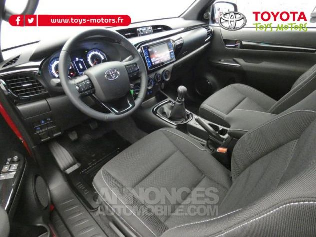Toyota HILUX 2.4 D-4D 150ch X-Tra Cabine Légende 4WD RC19 Rouge Volcano Occasion - 2