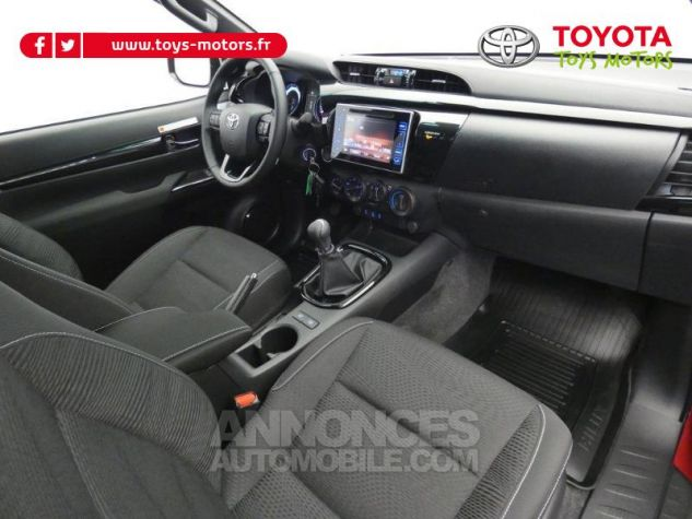 Toyota HILUX 2.4 D-4D 150ch X-Tra Cabine Légende 4WD RC19 Rouge Volcano Occasion - 3