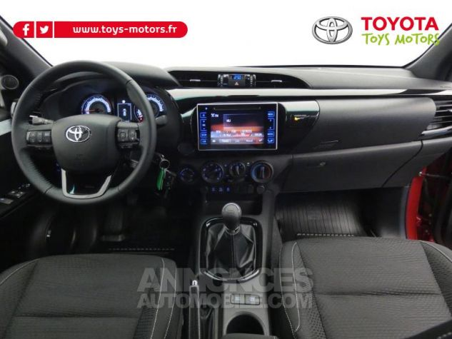 Toyota HILUX 2.4 D-4D 150ch X-Tra Cabine Légende 4WD RC19 Rouge Volcano Occasion - 6