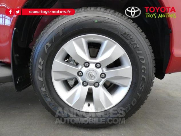 Toyota HILUX 2.4 D-4D 150ch X-Tra Cabine Légende 4WD RC19 Rouge Volcano Occasion - 7