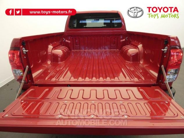 Toyota HILUX 2.4 D-4D 150ch X-Tra Cabine Légende 4WD RC19 Rouge Volcano Occasion - 8