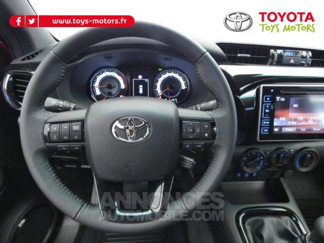 Toyota HILUX 2.4 D-4D 150ch X-Tra Cabine Légende 4WD RC19 Rouge Volcano Occasion - 9