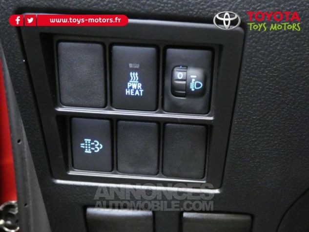Toyota HILUX 2.4 D-4D 150ch X-Tra Cabine Légende 4WD RC19 Rouge Volcano Occasion - 11