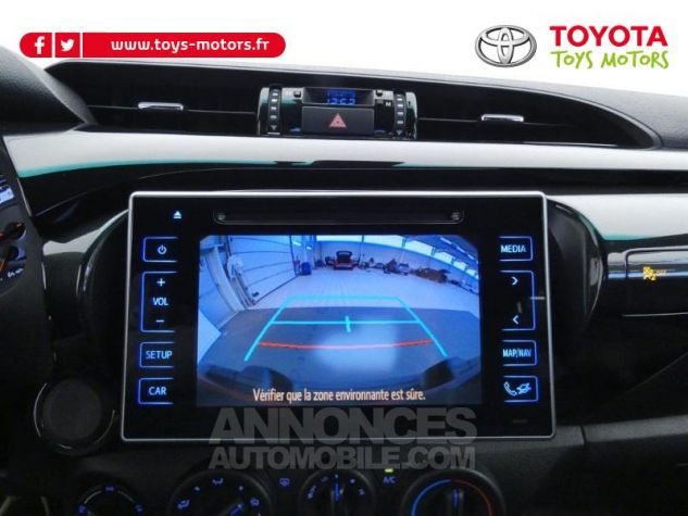 Toyota HILUX 2.4 D-4D 150ch X-Tra Cabine Légende 4WD RC19 Rouge Volcano Occasion - 15