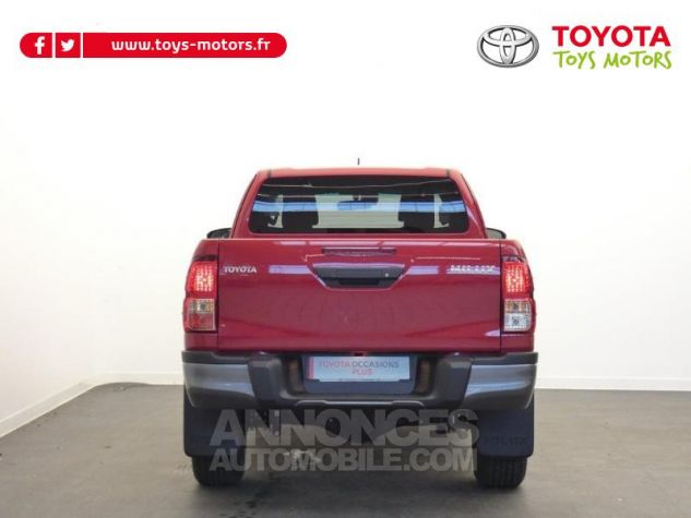 Toyota HILUX 2.4 D-4D 150ch X-Tra Cabine Légende 4WD RC19 Rouge Volcano Occasion - 17