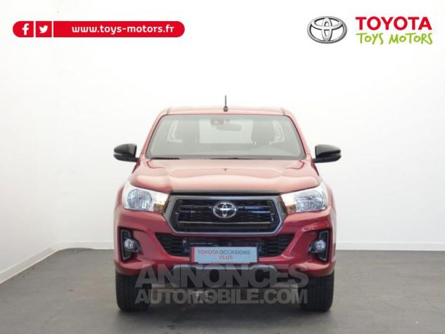 Toyota HILUX 2.4 D-4D 150ch X-Tra Cabine Légende 4WD RC19 Rouge Volcano Occasion - 19