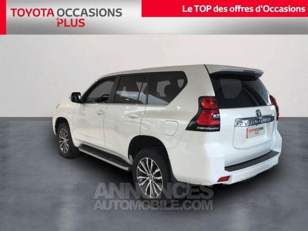 Toyota LAND CRUISER 177 D-4D Lounge BVA 5p RC18 070 BLANC NACRE Occasion - 1