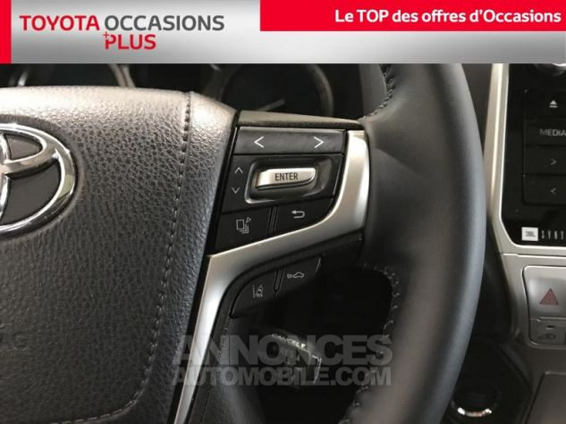 Toyota LAND CRUISER 177 D-4D Lounge BVA 5p RC18 070 BLANC NACRE Occasion - 9