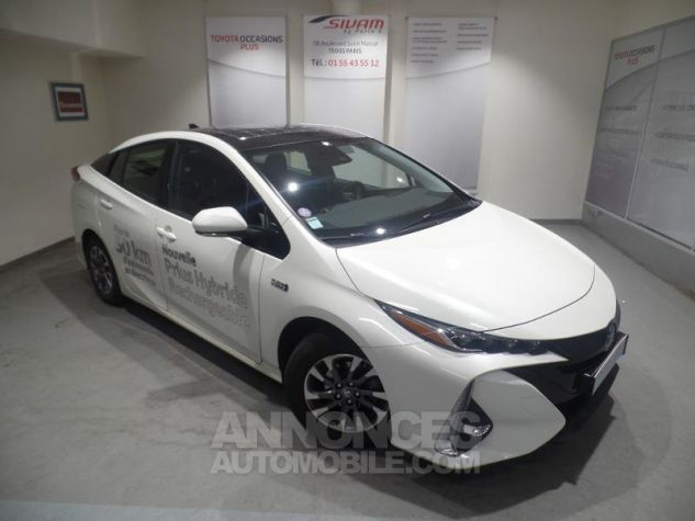 Toyota PRIUS Rechargeable 122h BLANC Occasion - 0