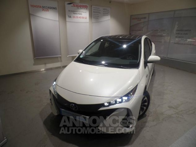 Toyota PRIUS Rechargeable 122h BLANC Occasion - 14