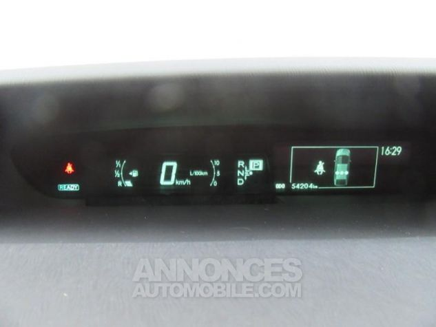 Toyota PRIUS Rechargeable 136h Dynamic GRIS Occasion - 12