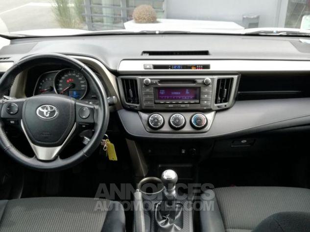 Toyota RAV4 124 D-4D LeCap 2WD Blanche Occasion - 3