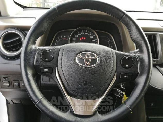 Toyota RAV4 124 D-4D LeCap 2WD Blanche Occasion - 14