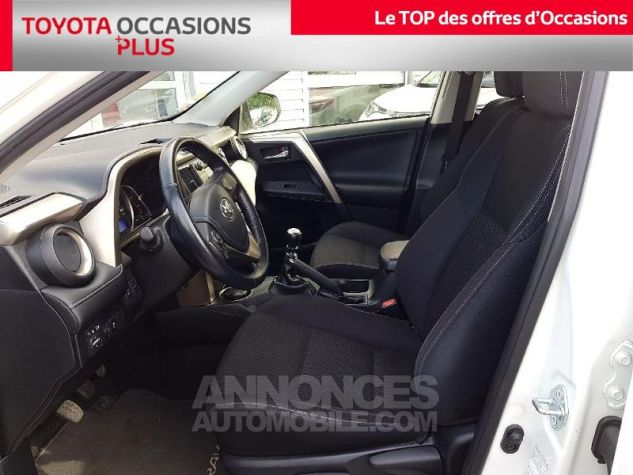 Toyota RAV4 124 D-4D Life AWD BLANC Occasion - 12