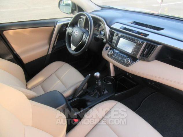 Toyota RAV4 124 D-4D Lounge 2WD MARRON Occasion - 5