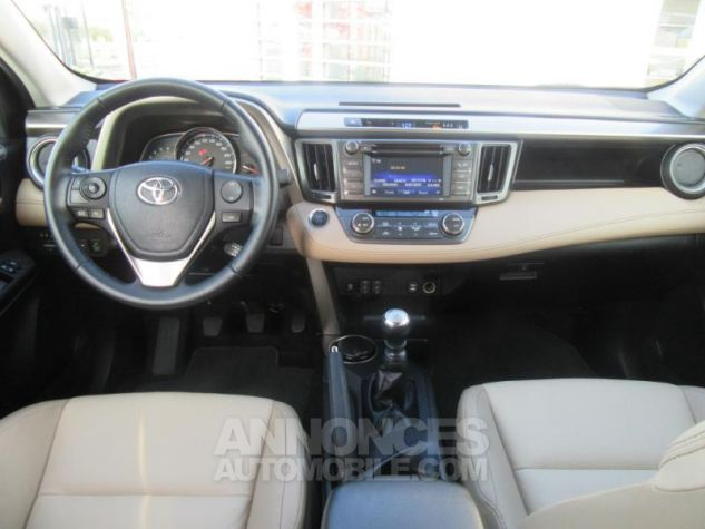 Toyota RAV4 124 D-4D Lounge 2WD MARRON Occasion - 8