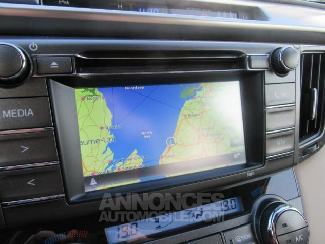Toyota RAV4 124 D-4D Lounge 2WD MARRON Occasion - 11