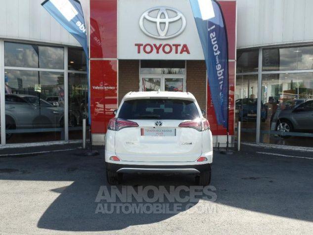 Toyota RAV4 143 D-4D Design 2WD BLANC PUR Occasion - 4
