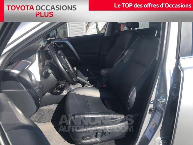 Toyota RAV4 143 D-4D Lounge 2WD GRIS ALUMINIUM Occasion - 12