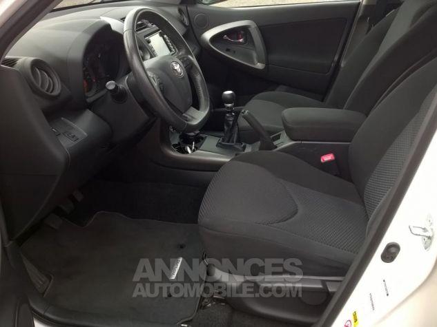 Toyota RAV4 150 D-4D 4WD Life Blanc Occasion - 6