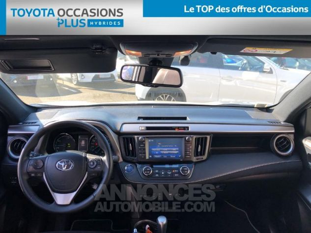Toyota RAV4 197 Hybride Black Edition 2WD CVT GRIS C Occasion - 4