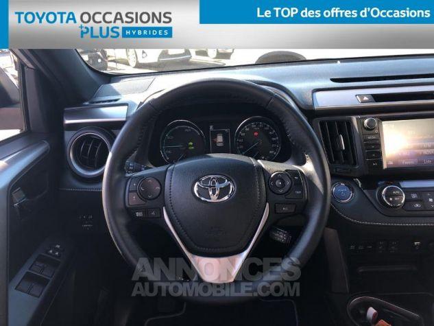 Toyota RAV4 197 Hybride Black Edition 2WD CVT GRIS C Occasion - 5