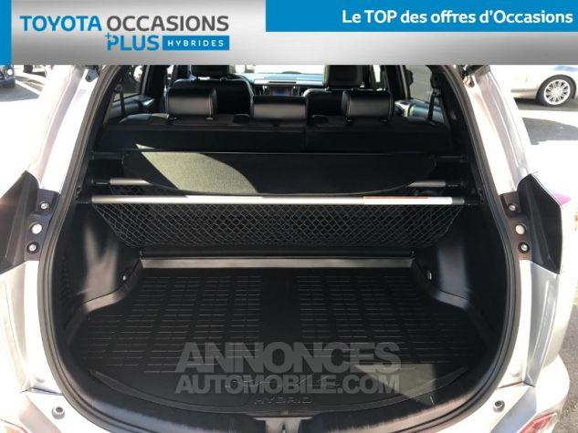 Toyota RAV4 197 Hybride Black Edition 2WD CVT GRIS C Occasion - 14