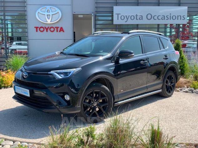 Toyota RAV4 197 Hybride Black Edition 2WD CVT NOIR Occasion - 0