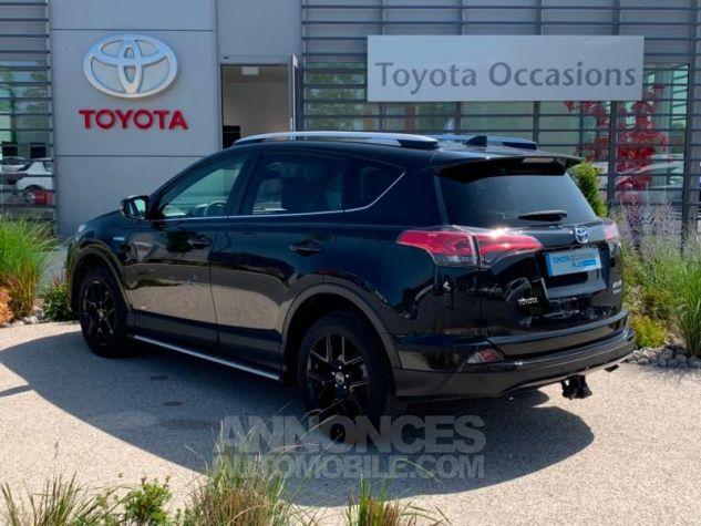 Toyota RAV4 197 Hybride Black Edition 2WD CVT NOIR Occasion - 2