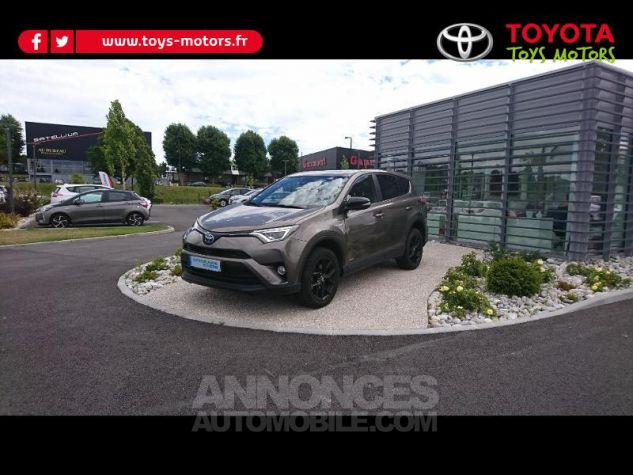 Toyota RAV4 197 Hybride Black Edition 2WD CVT RC18 Bronze Clarissimo Occasion - 1