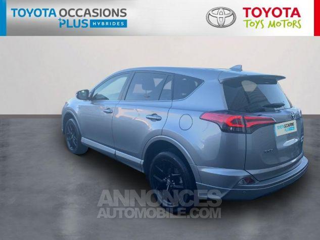 Toyota RAV4 197 Hybride Collection 2WD CVT Gris Acier Occasion - 1