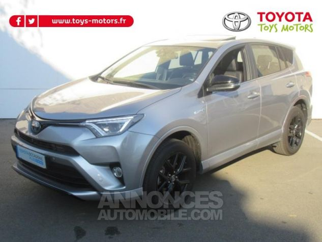 Toyota RAV4 197 Hybride Collection 2WD CVT RC18 GRIS ACIER Occasion - 0