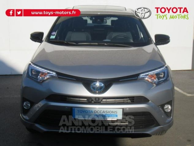 Toyota RAV4 197 Hybride Collection 2WD CVT RC18 GRIS ACIER Occasion - 1
