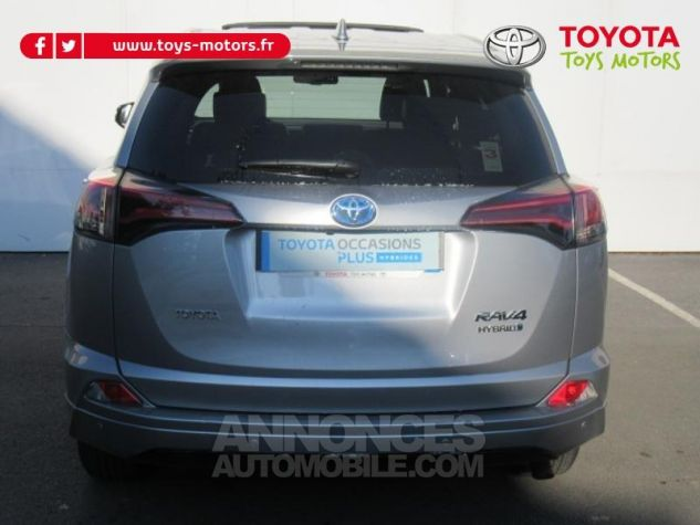 Toyota RAV4 197 Hybride Collection 2WD CVT RC18 GRIS ACIER Occasion - 4