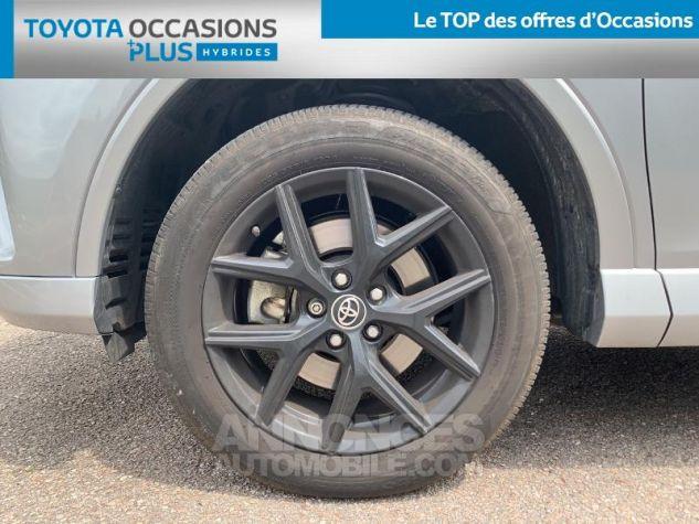 Toyota RAV4 197 Hybride Collection 2WD CVT RC18 1d6 Gris Acier Occasion - 3
