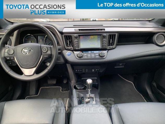 Toyota RAV4 197 Hybride Collection 2WD CVT RC18 1d6 Gris Acier Occasion - 4