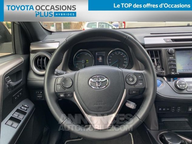 Toyota RAV4 197 Hybride Collection 2WD CVT RC18 1d6 Gris Acier Occasion - 5