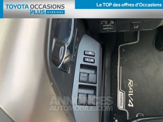 Toyota RAV4 197 Hybride Collection 2WD CVT RC18 1d6 Gris Acier Occasion - 11