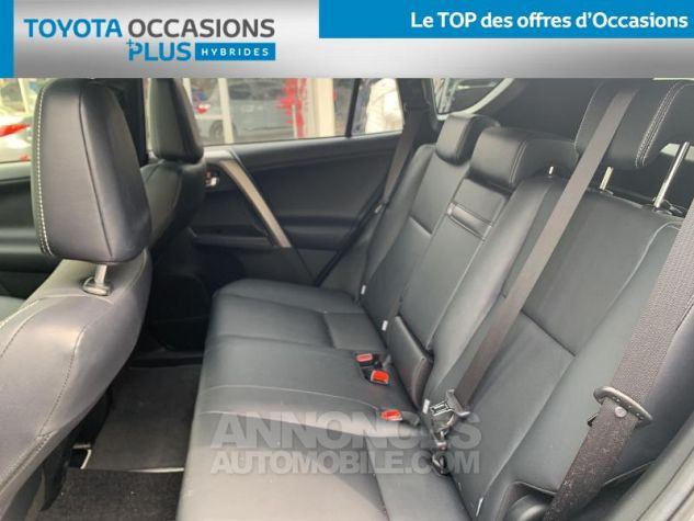 Toyota RAV4 197 Hybride Collection 2WD CVT RC18 1d6 Gris Acier Occasion - 13