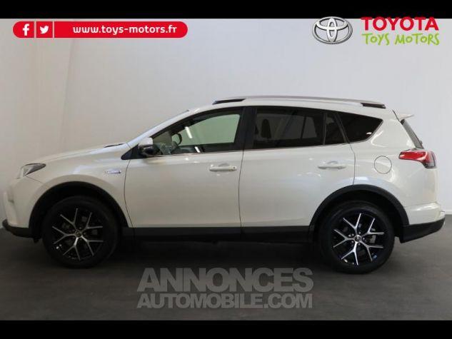 Toyota RAV4 197 Hybride Design 2WD CVT BLANC NACRE Occasion - 2