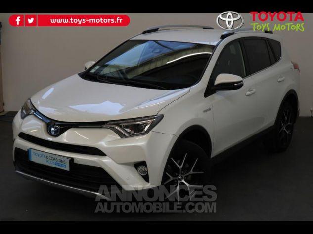 Toyota RAV4 197 Hybride Design 2WD CVT BLANC NACRE Occasion - 3