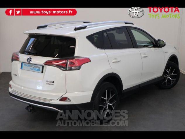 Toyota RAV4 197 Hybride Design 2WD CVT BLANC NACRE Occasion - 4