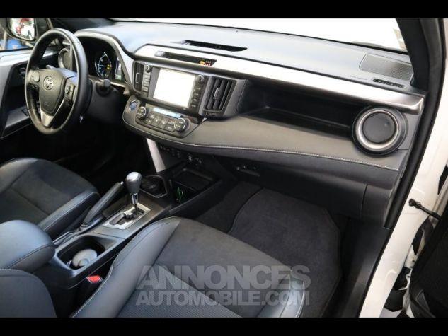 Toyota RAV4 197 Hybride Design 2WD CVT BLANC NACRE Occasion - 7