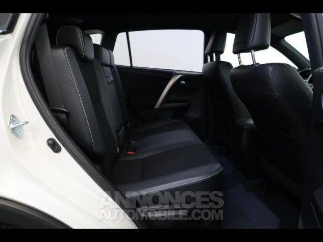Toyota RAV4 197 Hybride Design 2WD CVT BLANC NACRE Occasion - 12