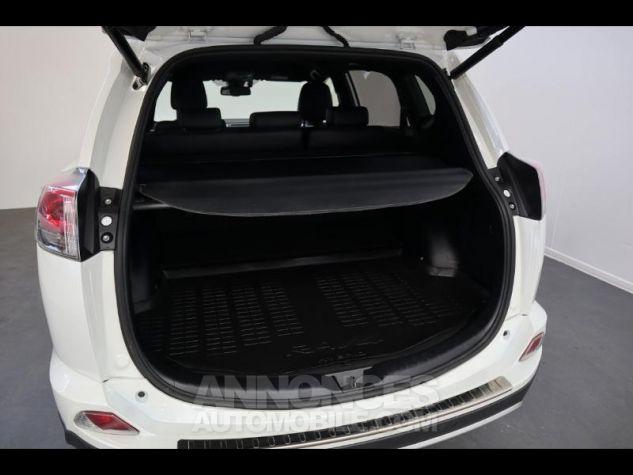 Toyota RAV4 197 Hybride Design 2WD CVT BLANC NACRE Occasion - 14